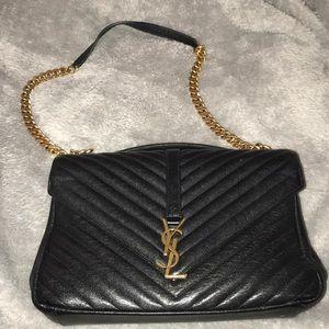 Yves Saint Laurent Large college bag